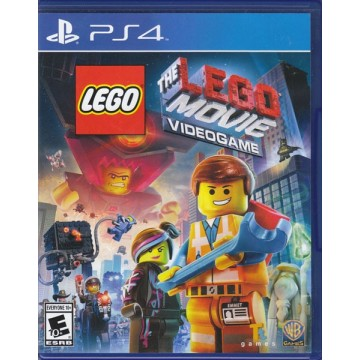 LEGO Movie Videogame PS4 Blu-ray Disc
